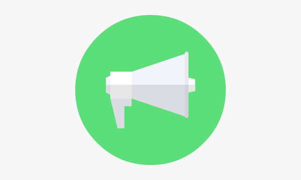 video-promotion-green-megaphone-icon
