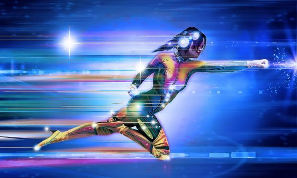 speed-video-with-female-superhero-in-green